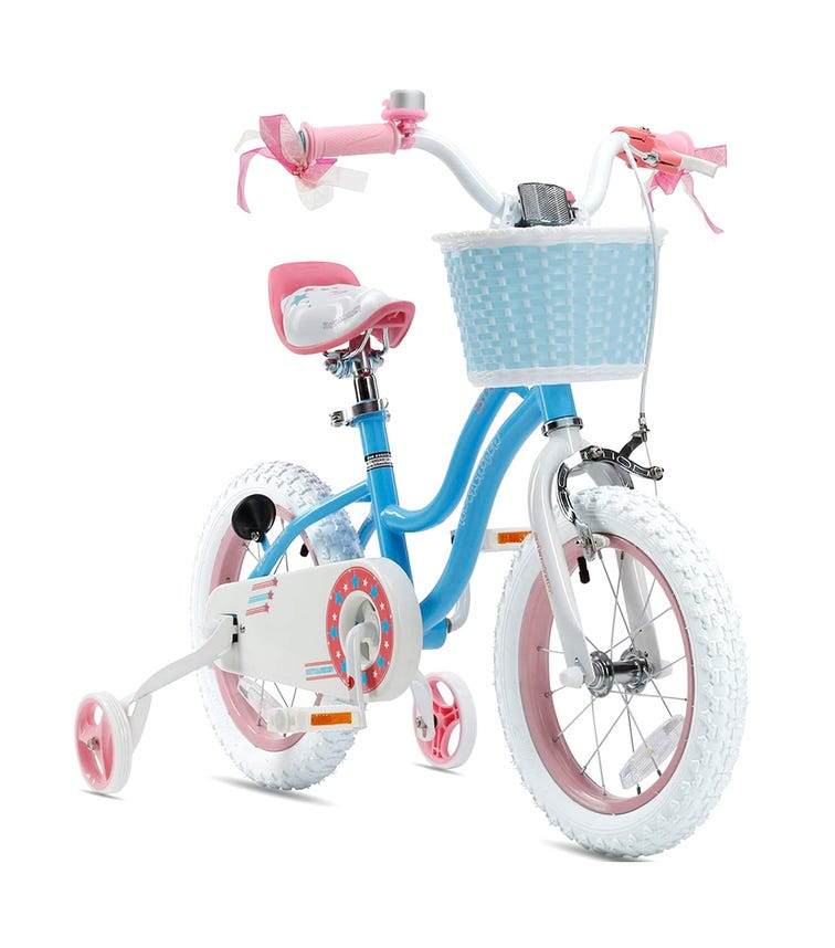 ROYAL BABY 16 Star Girl Bicycle - Blue