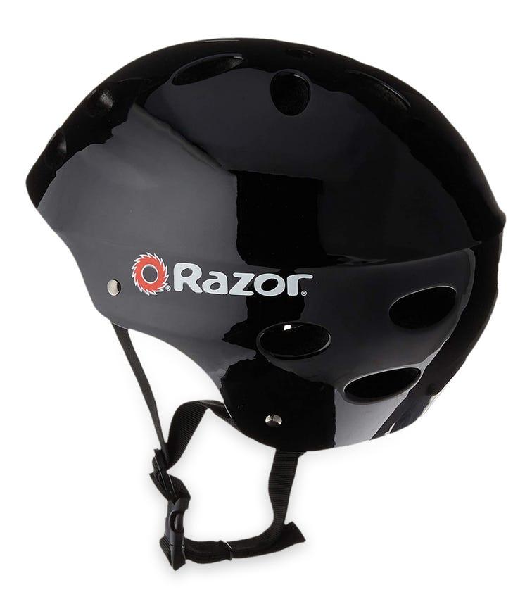 RAZOR Child Helmet Gloss - Black (V17)