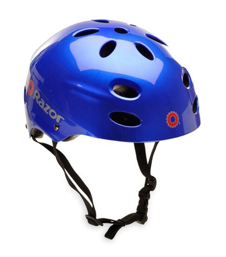 RAZOR Youth Helmet - Gloss Blue (V17)