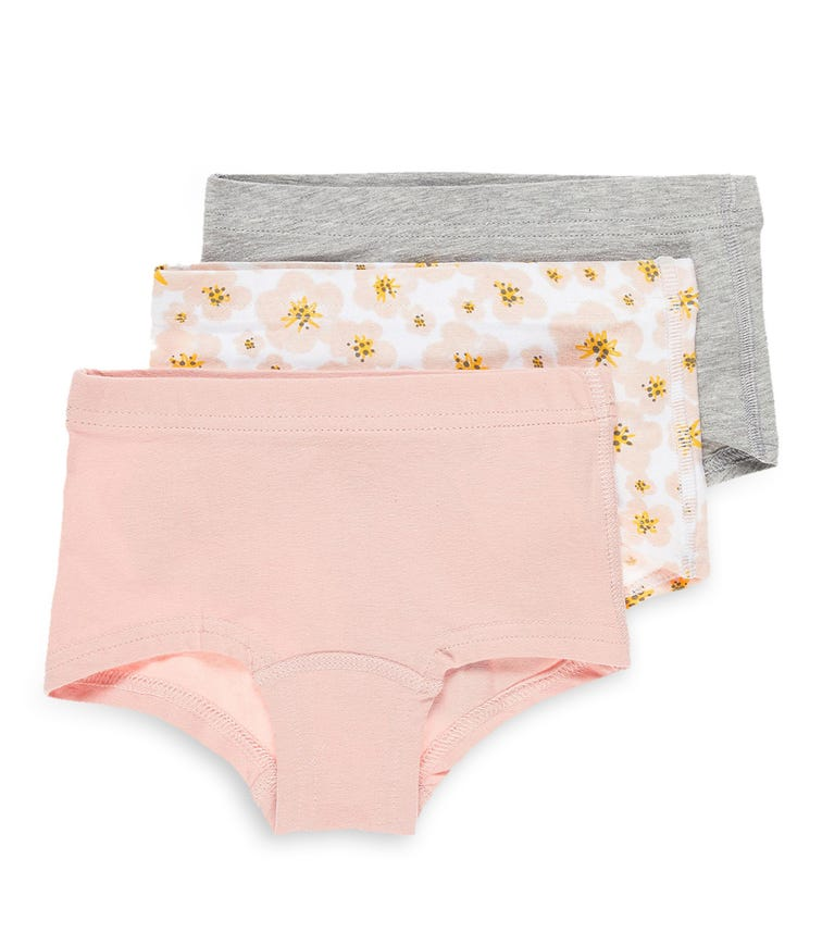 NAME IT Soft Daisy Hipster (3-Pack)