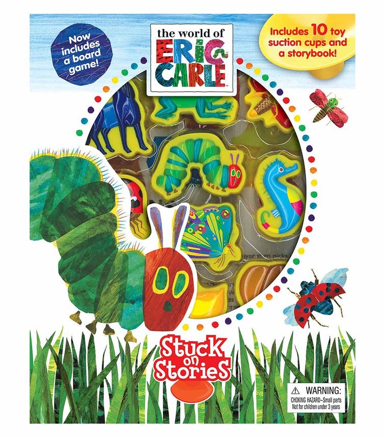 PHIDAL Eric Carle Stuck On Stories