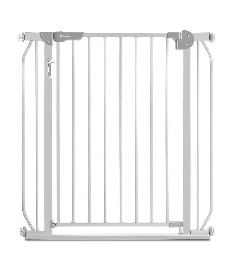 LIONELO Truus Slim Led Baby Gate - Grey