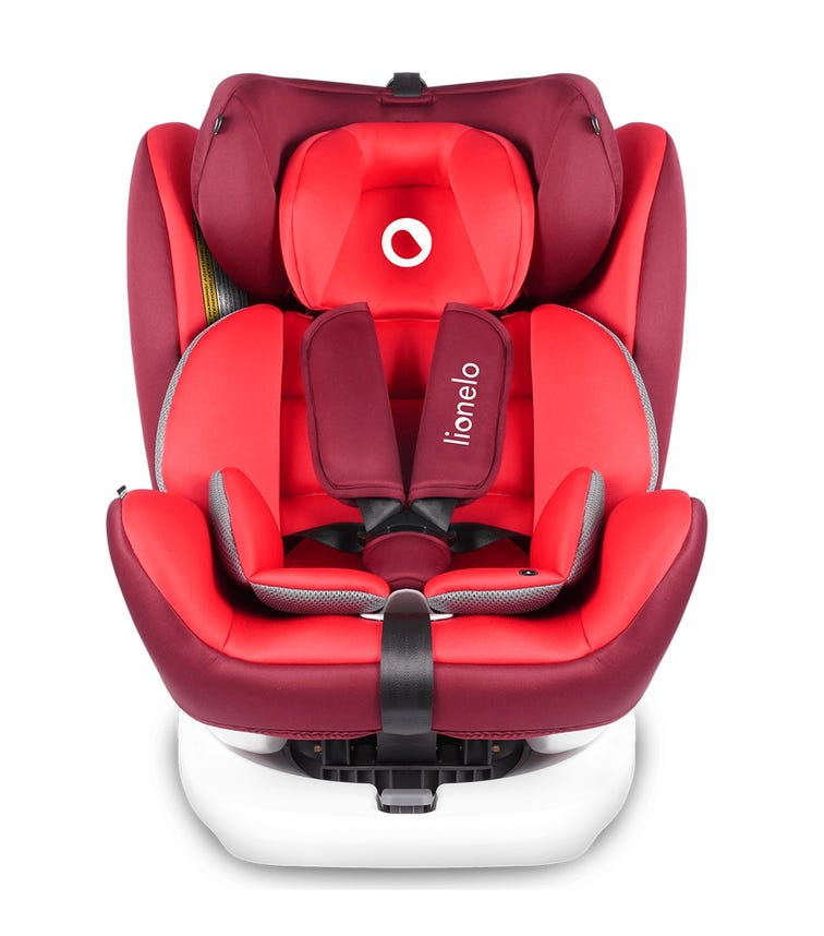 LIONELO Bastiaan 360 Baby Car Seat - Red