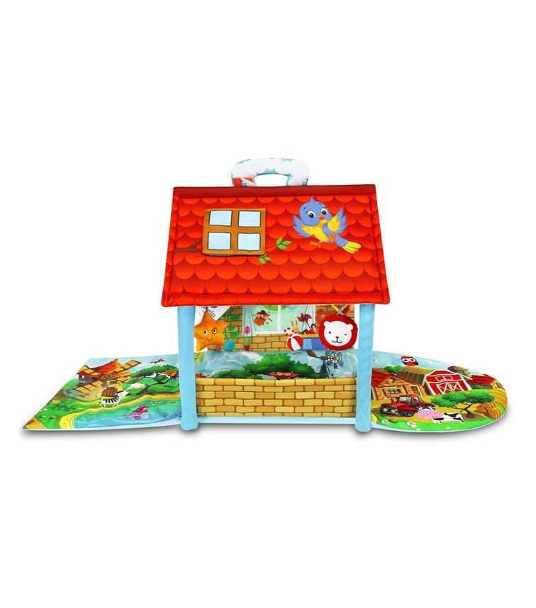 LIONELO Agnes Plus Educational Baby Playgym