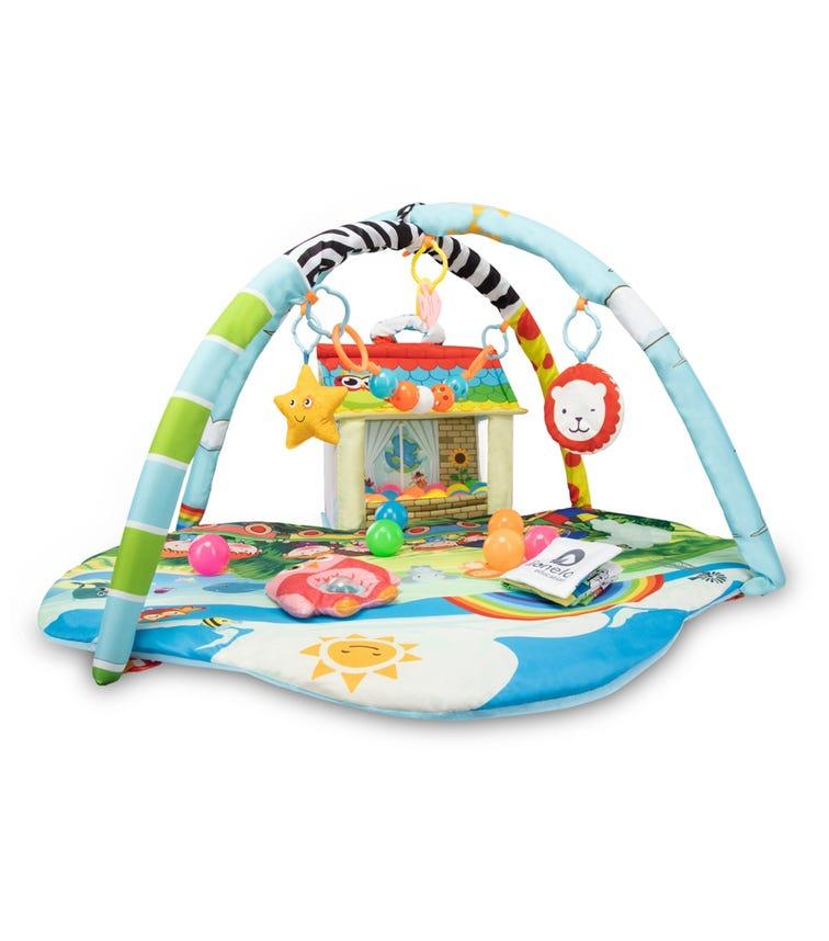 LIONELO Imke Plus Educational Baby Playgym
