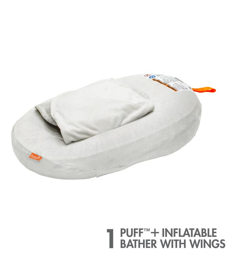BOON Puff Plus Inflatable Baby Bather With Wings