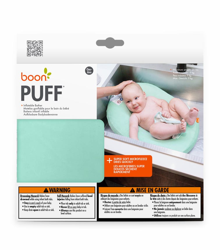BOON Puff Inflatable Baby Bather