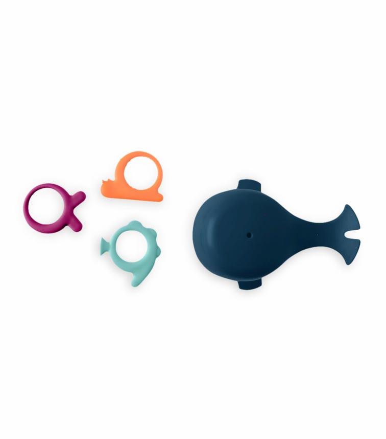 BOON Chomp Hungry Whale Bath Toy