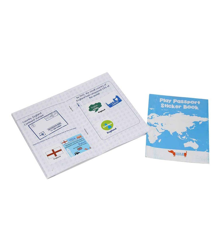 COCOMOCO KIDS Play Passport With Stickers