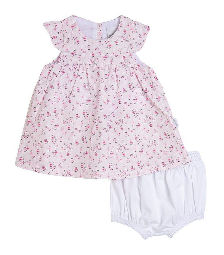 STUMMER Floral Dress And Shorts Set