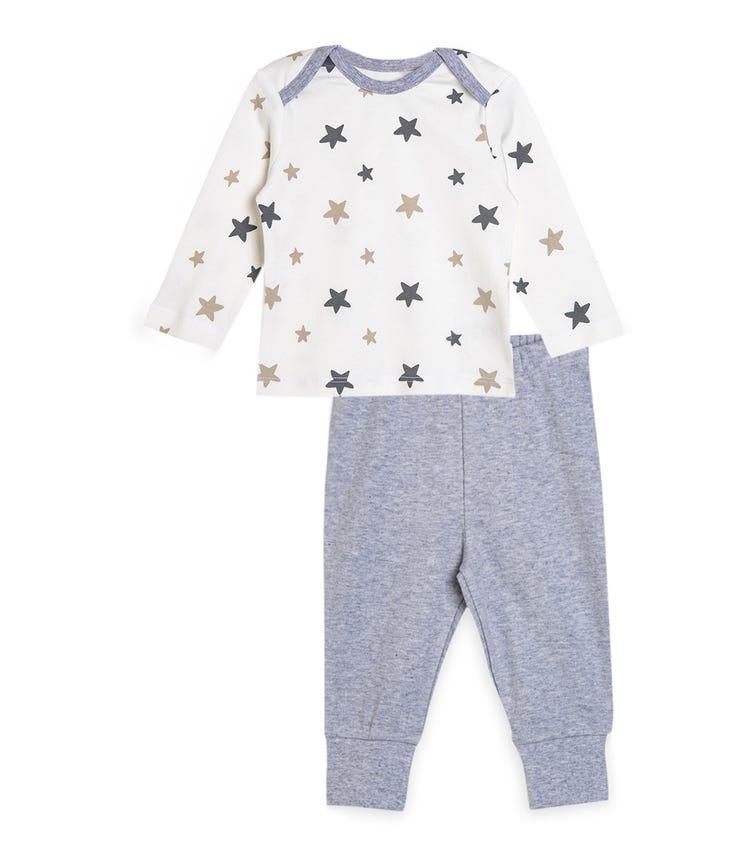 ORGANIC KID 2-Pieces Set - T-Shirt And Pant