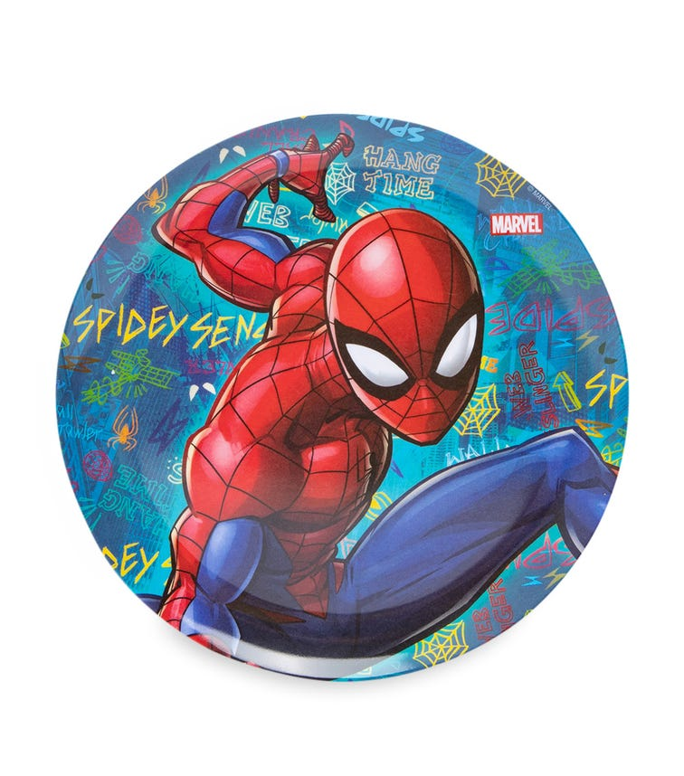 SPIDERMAN Melamine Plate Without Rim