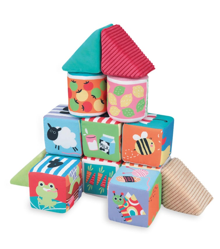K'S KIDS Soft Learning Blocks (14 Pieces)