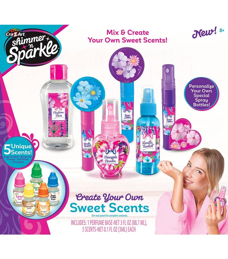 SHIMMER 'N SPARKLE Make Your Own Glitter Perfumes