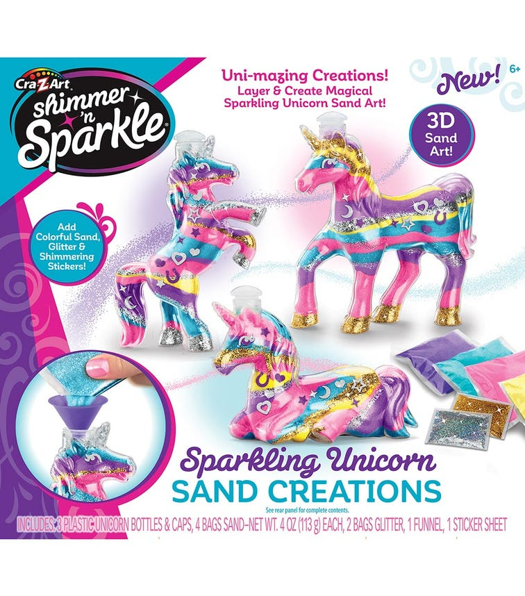 SHIMMER 'N SPARKLE Unicorn Sand Creations