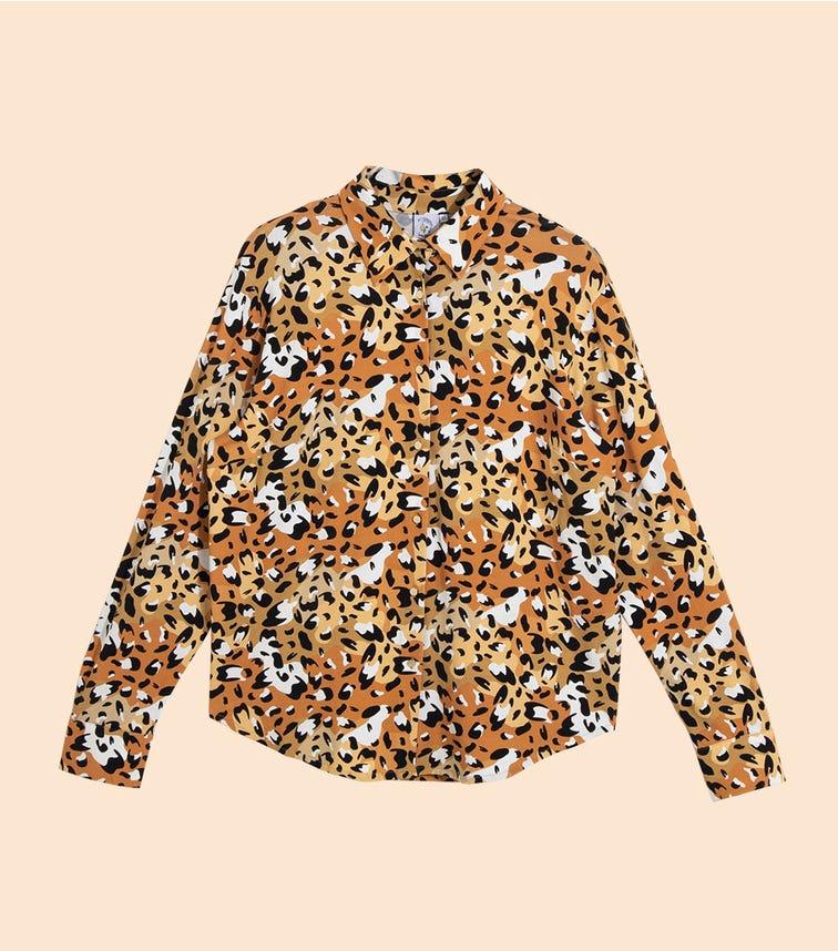 HEY POPINJAY Women's Jungle-Spots Diana Shirt