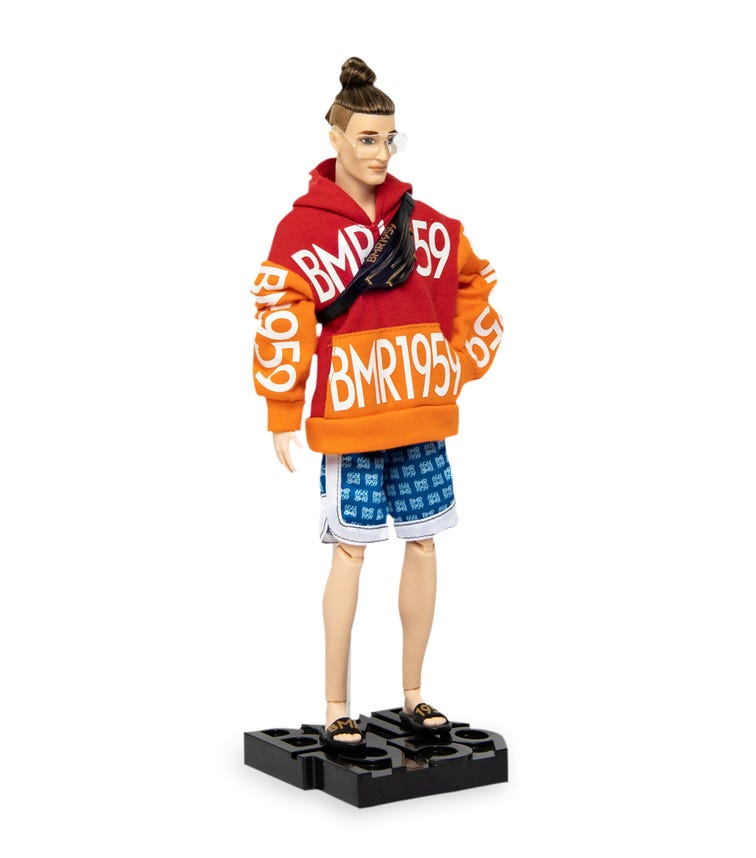 BARBIE BMR 1959 - Doll 3 (Ken With Topknot)