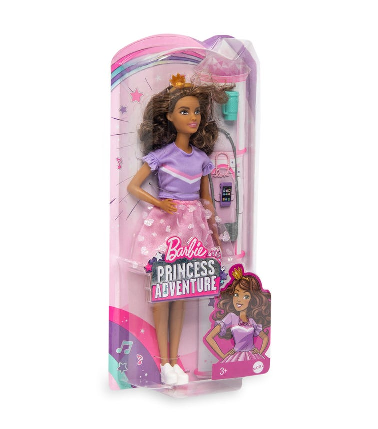 BARBIE Modern Princess Friends Doll - Teresa