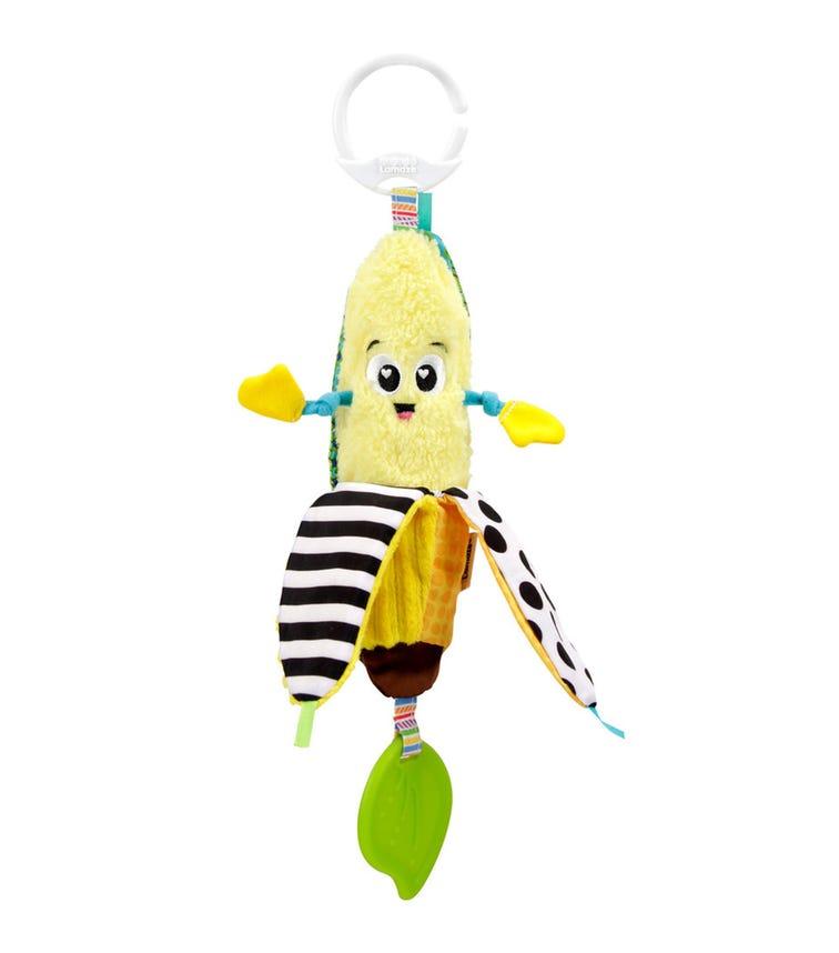 LAMAZE Clip & Go Sensory Toy - Bea The Banana (0-24M)