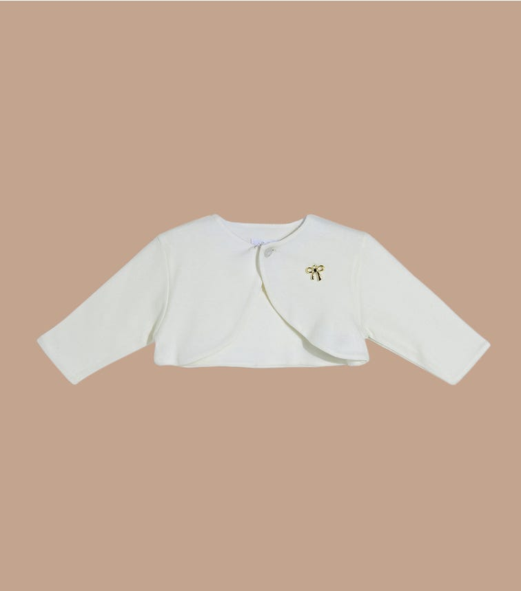 SOFIJA Ivory Soft Cotton Jacket