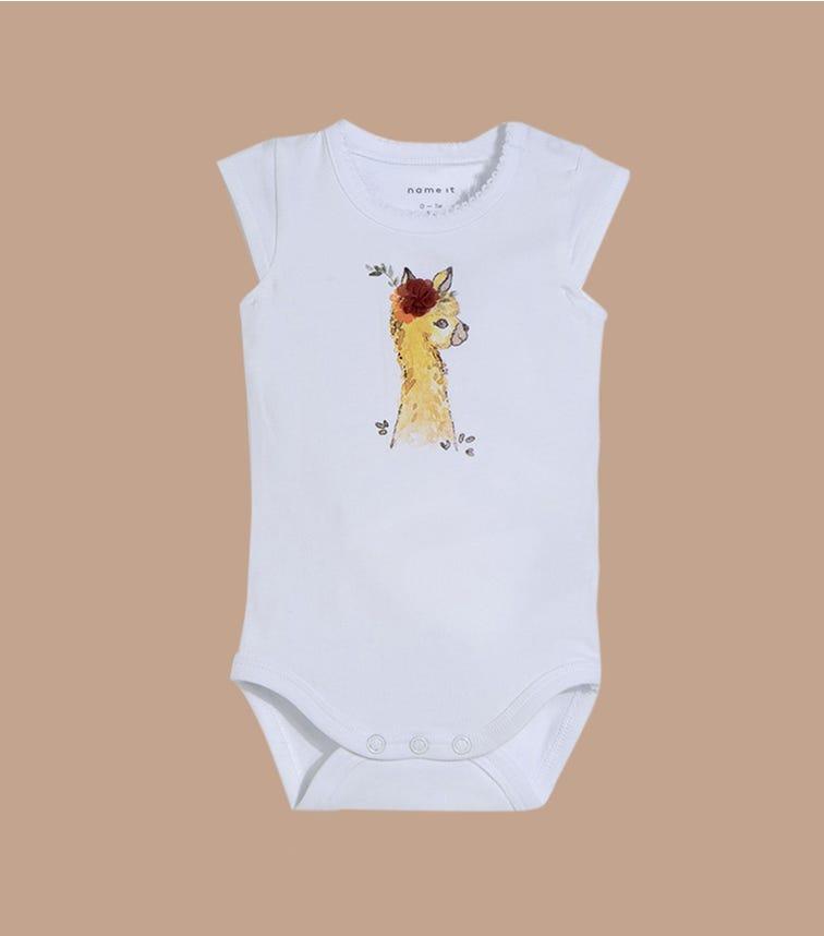 NAME IT Llama Bodysuit