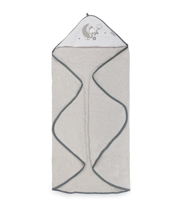 BIMBIDREAMS Moon Bunny Hooded Towel