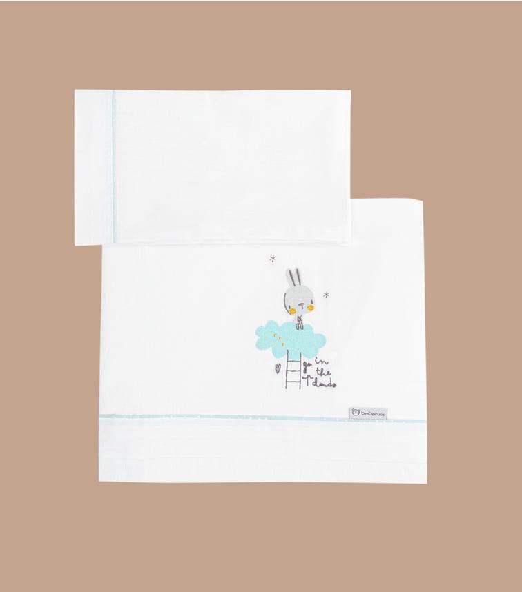 BIMBIDREAMS Tree Bunny 3-Piece Sheet Set