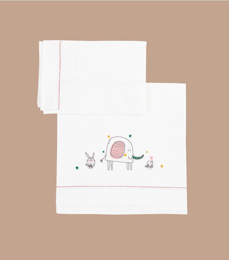 BIMBIDREAMS Elefante 3-Piece Sheet Set