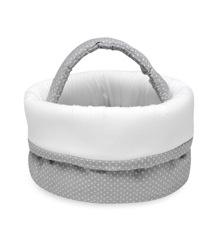BIMBIDREAMS Erizos Grey Bottle Basket