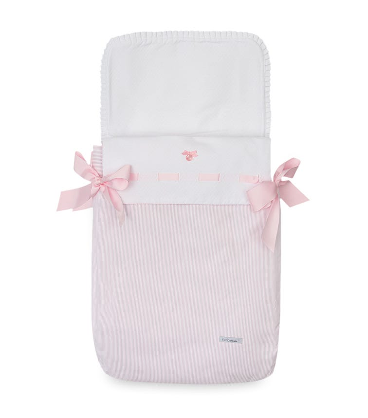 BIMBIDREAMS Suiza Pink Carrycot Sac