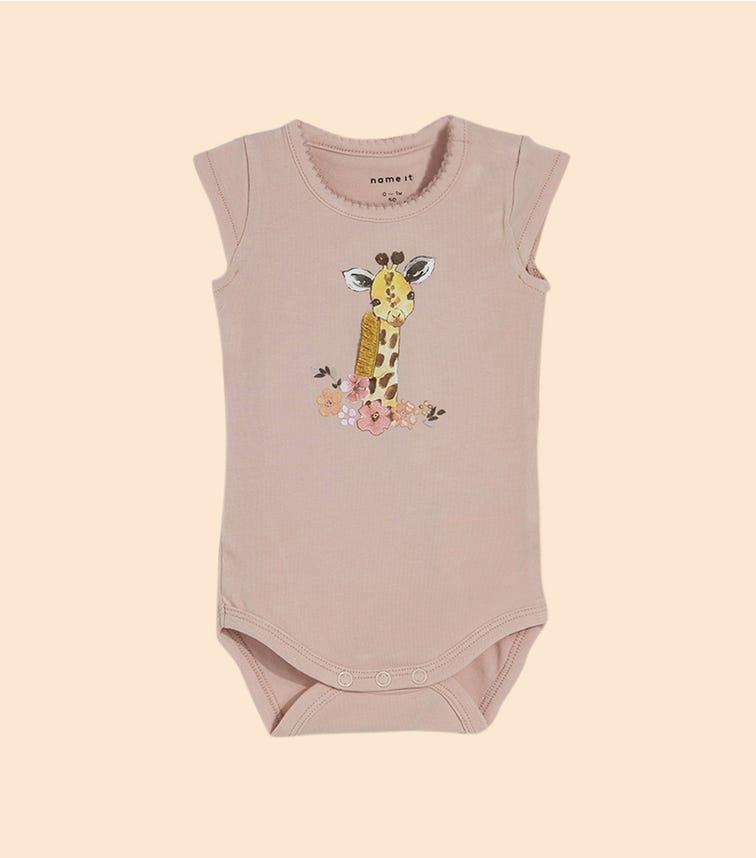 NAME IT Giraffe Bodysuit