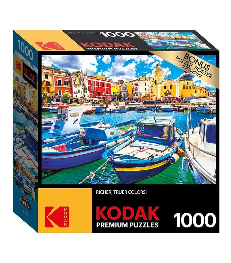 CRA-Z-ART Kodak 1000 Pieces Puzzle - Colorful Procida Island