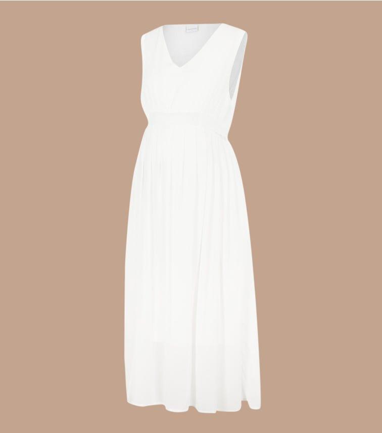 MAMALICIOUS 2-In-1 Maternity Midi Dress