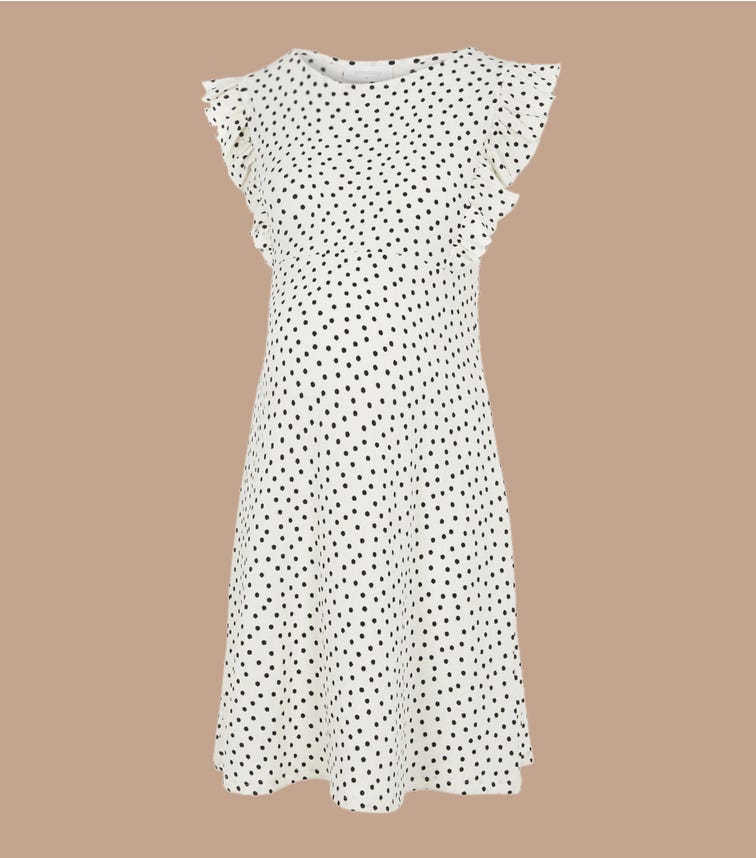 MAMALICIOUS Polka Dots Maternity Dress