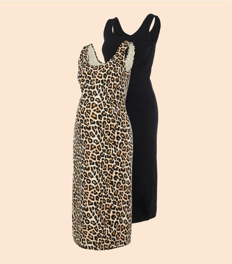 MAMALICIOUS 2-Pack Midi Dresses