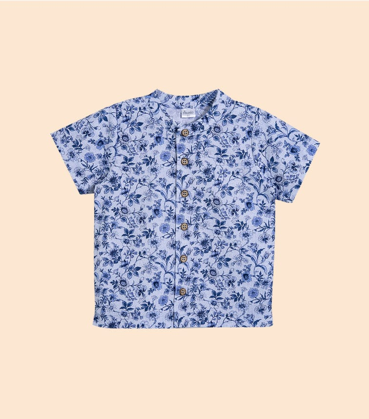 PINOKIO Floral Shirt
