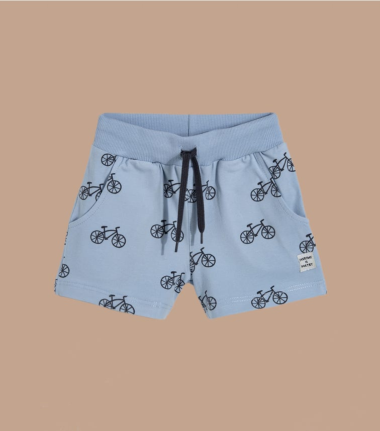 PINOKIO Bicycle Shorts With Drawcord