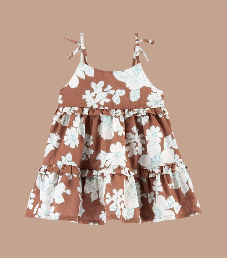OSHKOSH Ruffle Floral Dress