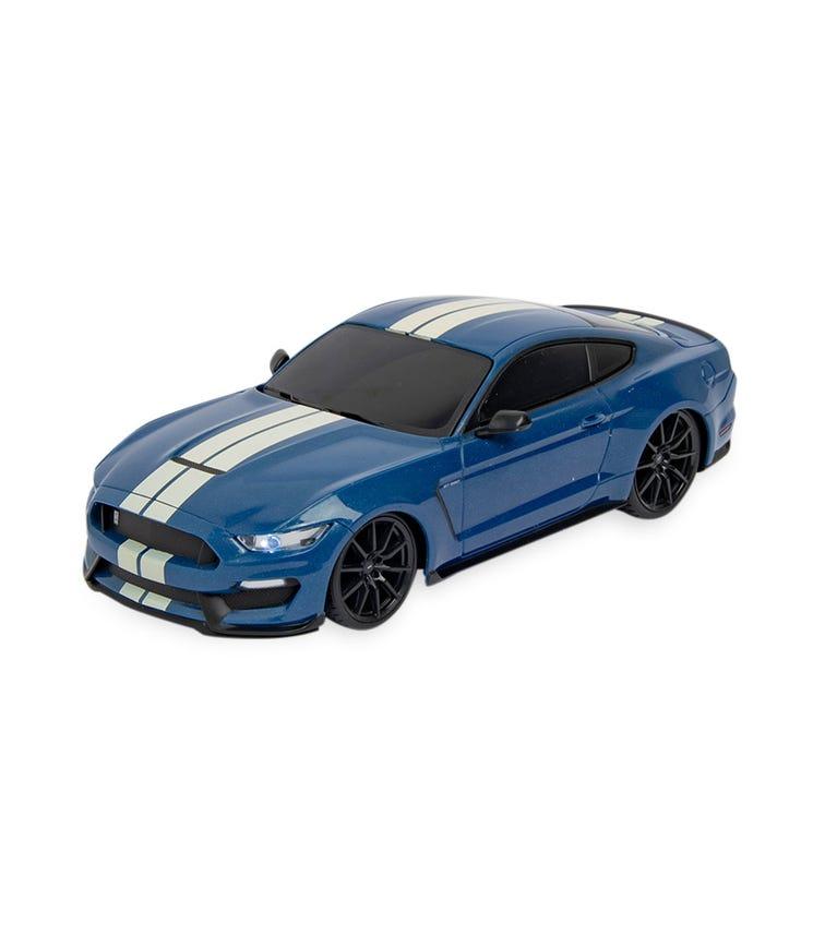 MAISTO 1:24 Scale Motosounds Ford Shelby GT350 (Blue)