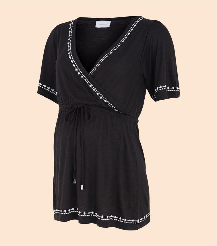 MAMALICIOUS Short Sleeved Jersey Top