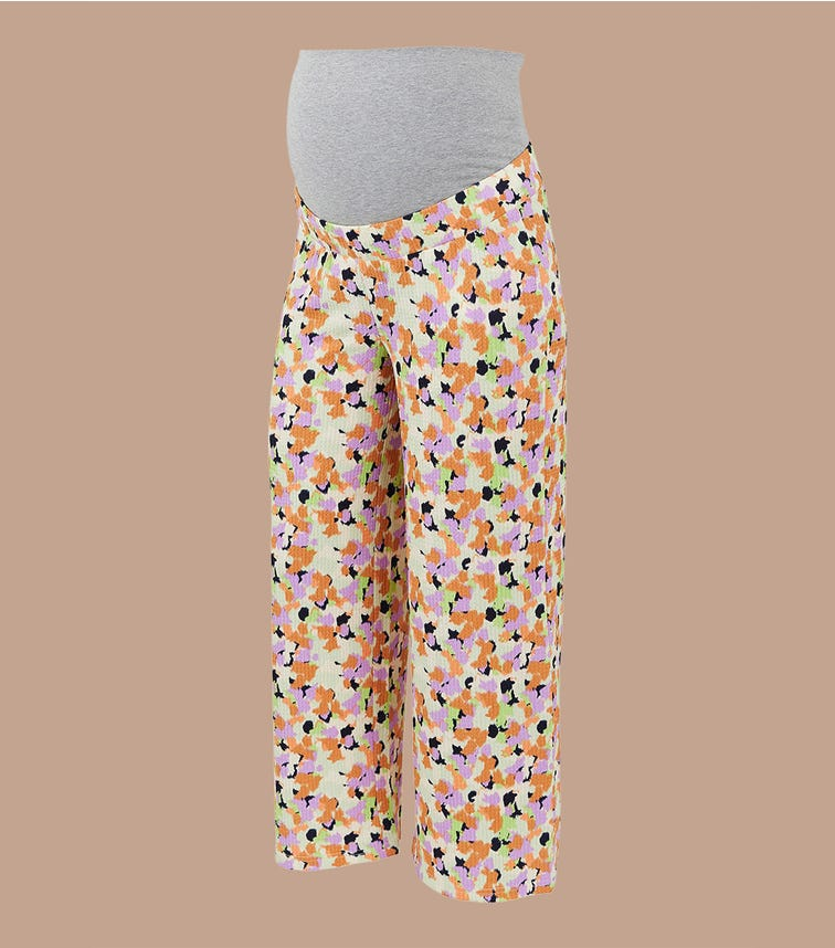 MAMALICIOUS Wide Bumpband Pants