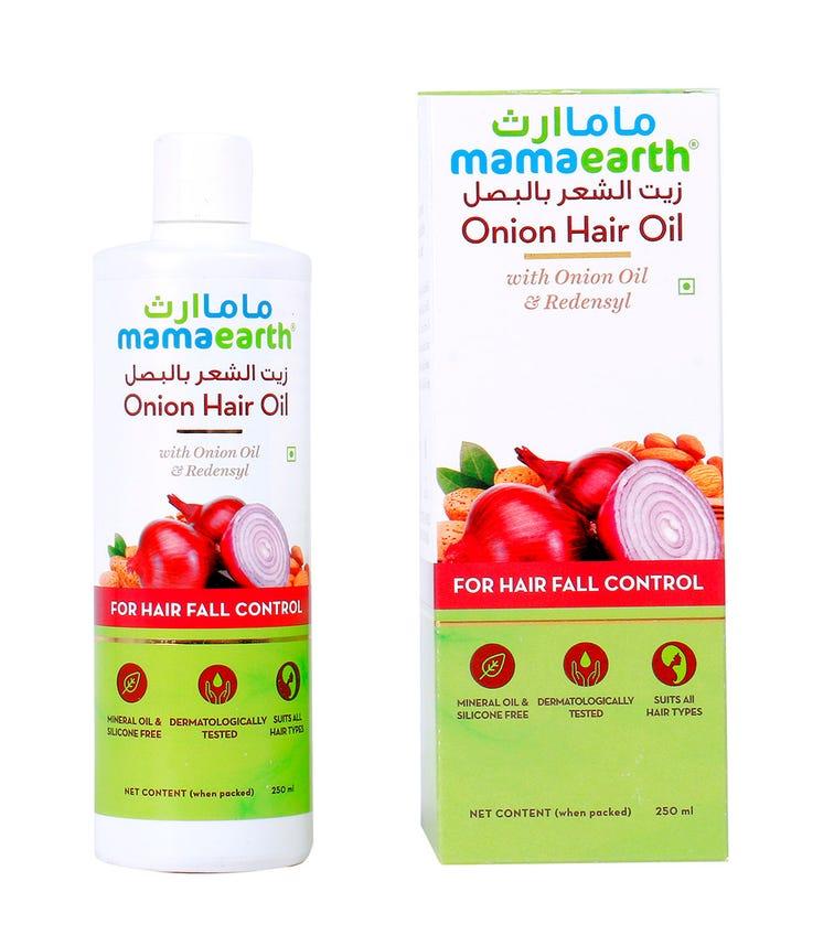 MAMAEARTH Onion Hair Oil 250 ML