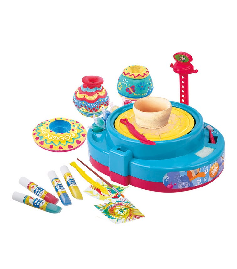 PLAYGO Paint & Pottery Wheel 2-In-1