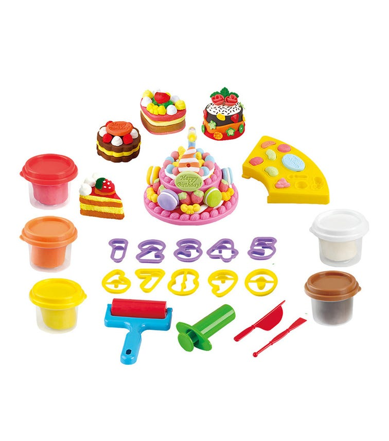 PLAYGO Musical Birthday Party (Battery Operated) (5 x 2 Oz Dough Included)