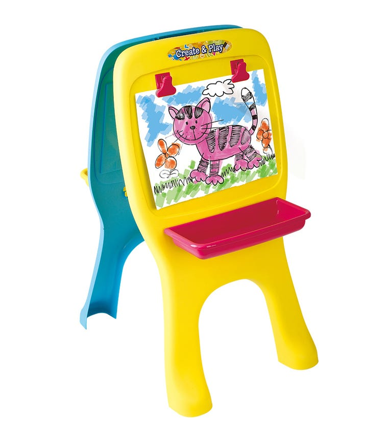 PLAYGO Alphabet & Drawing Board (57 Pieces)