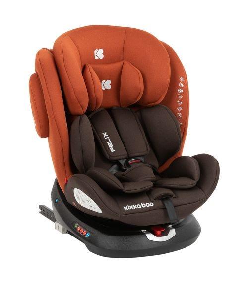 KIKKABOO Car Seat 0-1-2-3 (0-36 KG) Felix Isofix - Orange