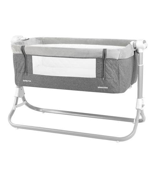 KIKKABOO Sway Me Electrical Bedside Crib - Grey