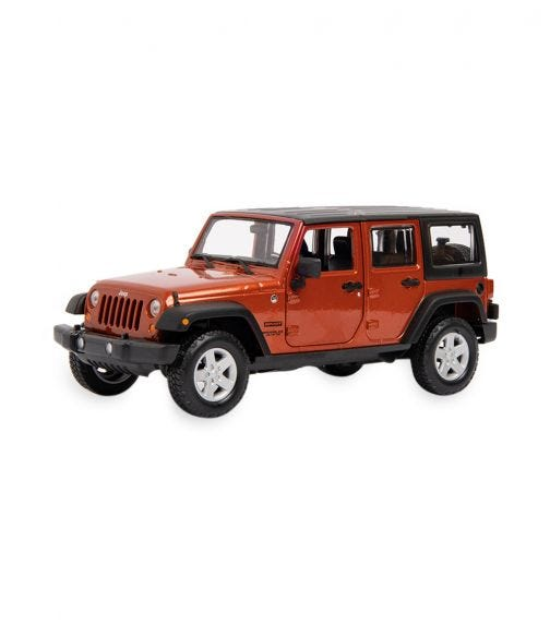 MAISTO 1:24 Scale Special Edition 2015 Jeep Wrangler Unlimited