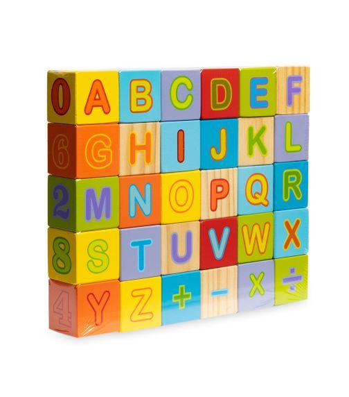 JOUECO Alphabet Blocks (30 Pieces)