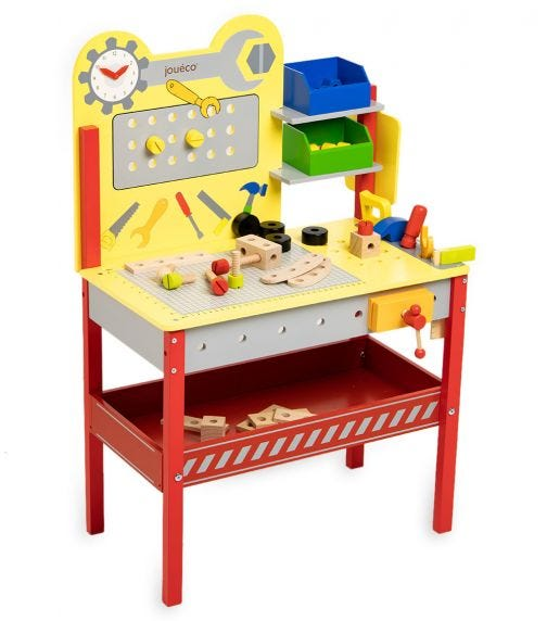 JOUECO Workbench With Tools